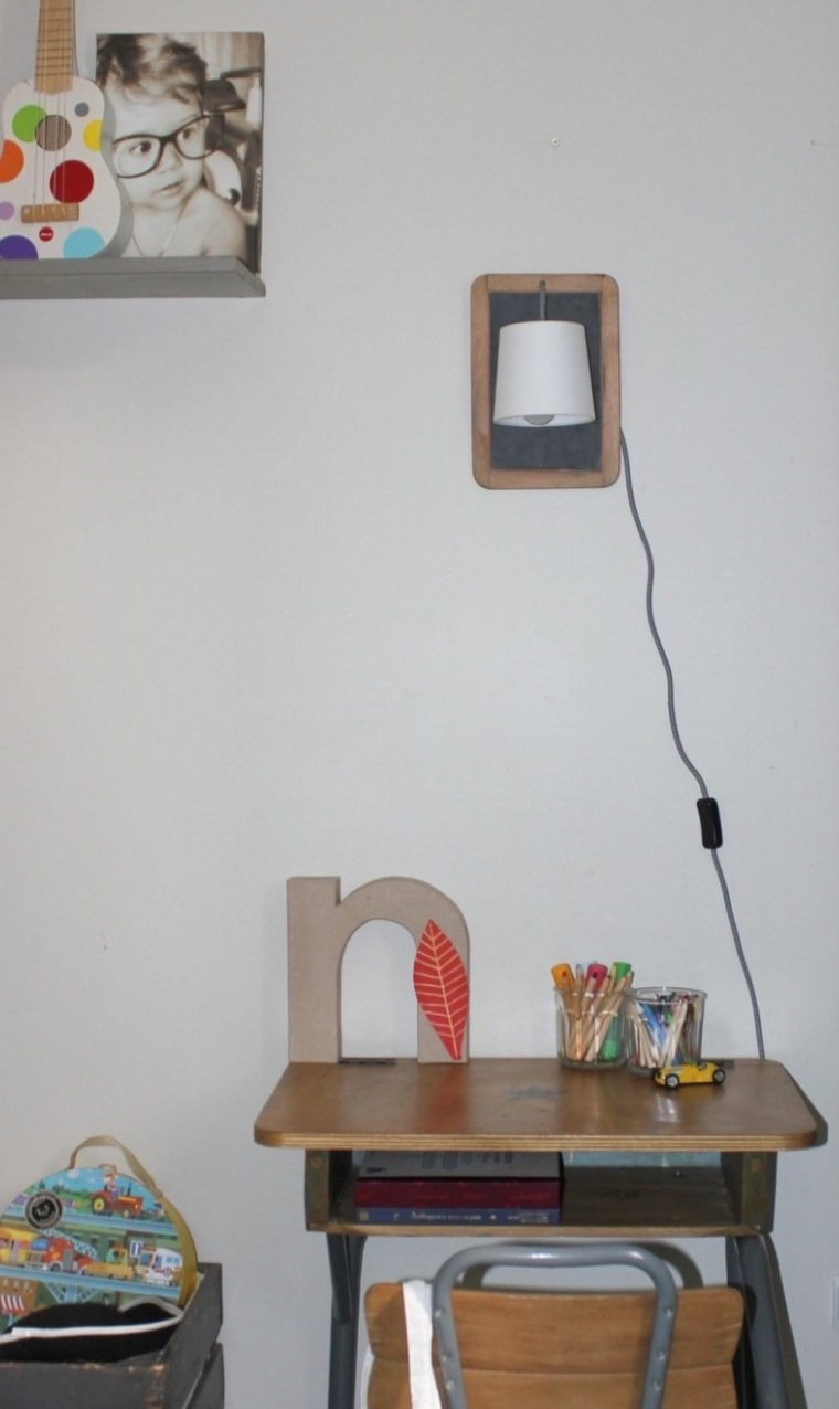 article lamp diy
